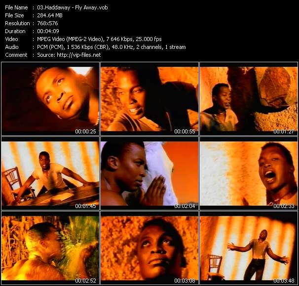 Screenshot of Music Video Haddaway - Fly Away