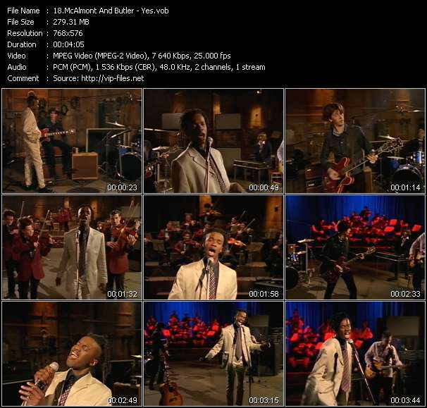 McAlmont And Butler video vob