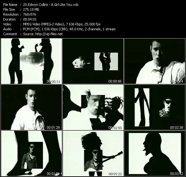 Edwyn Collins video vob