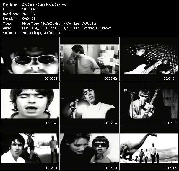 Oasis video vob