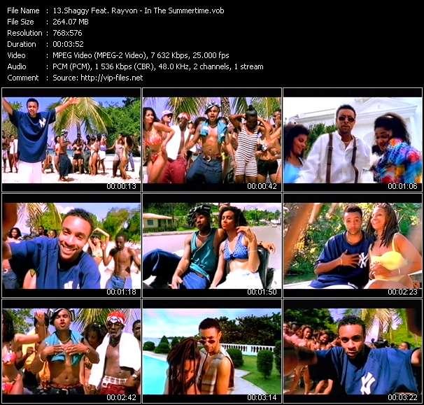 Shaggy Feat. Rayvon video vob