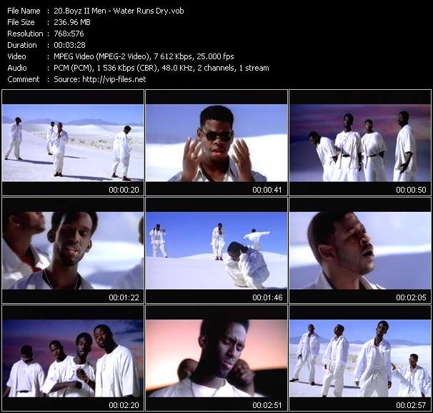 Boyz II Men video vob