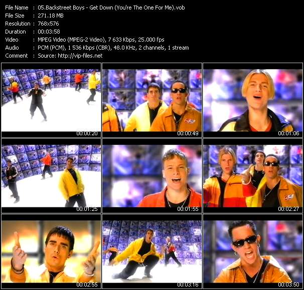 Backstreet Boys video vob