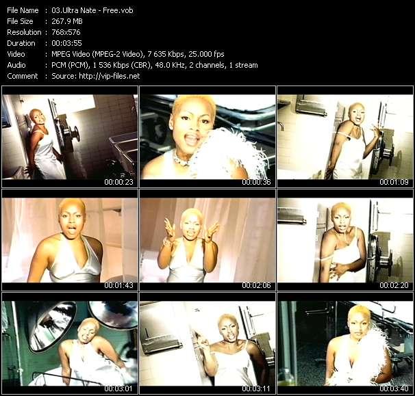 Screenshot of Music Video Ultra Nate - Free