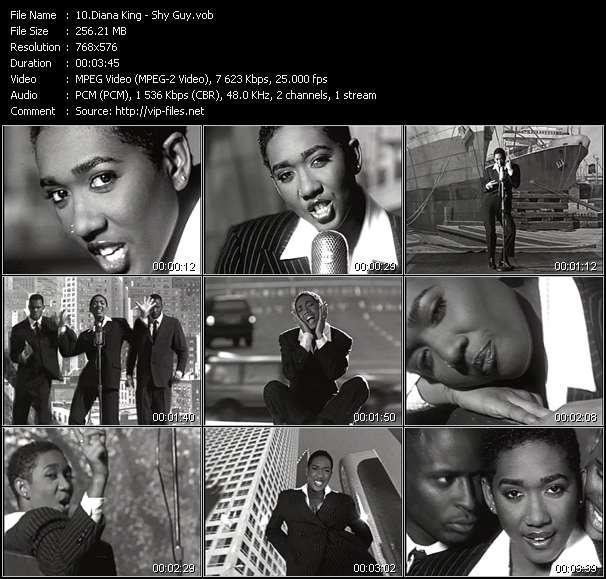Screenshot of Music Video Diana King - Shy Guy