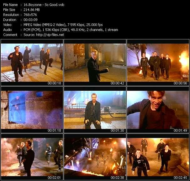 Boyzone video vob