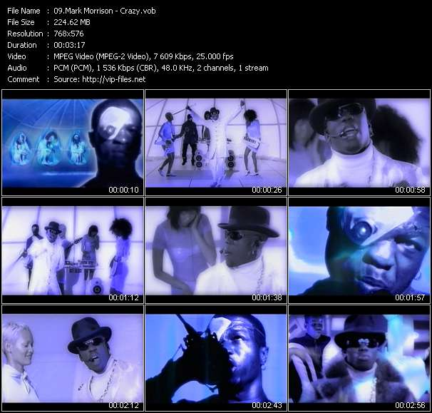 Mark Morrison video vob