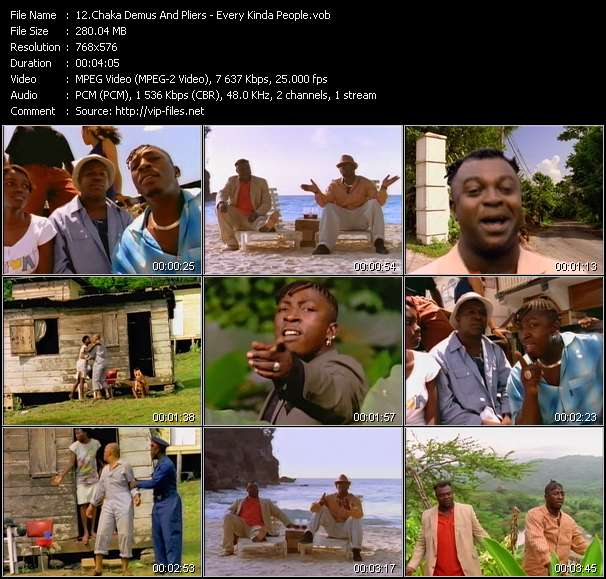 Chaka Demus And Pliers video vob