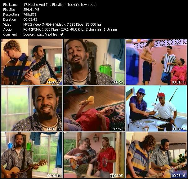 Hootie And The Blowfish video vob