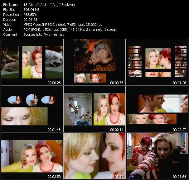 Alisha's Attic video vob