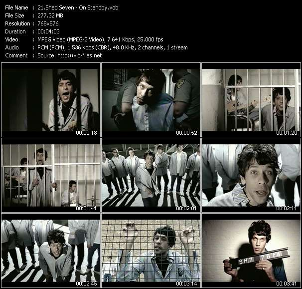 Shed Seven video vob