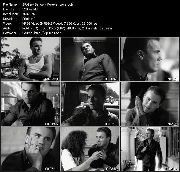 Gary Barlow video vob