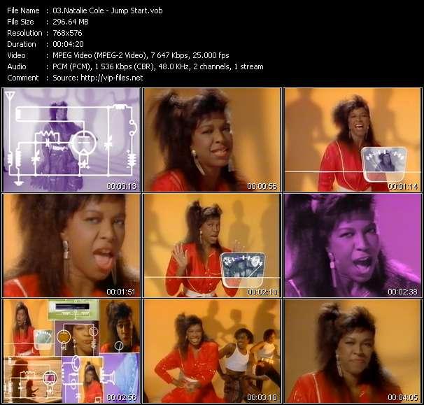 Screenshot of Music Video Natalie Cole - Jump Start