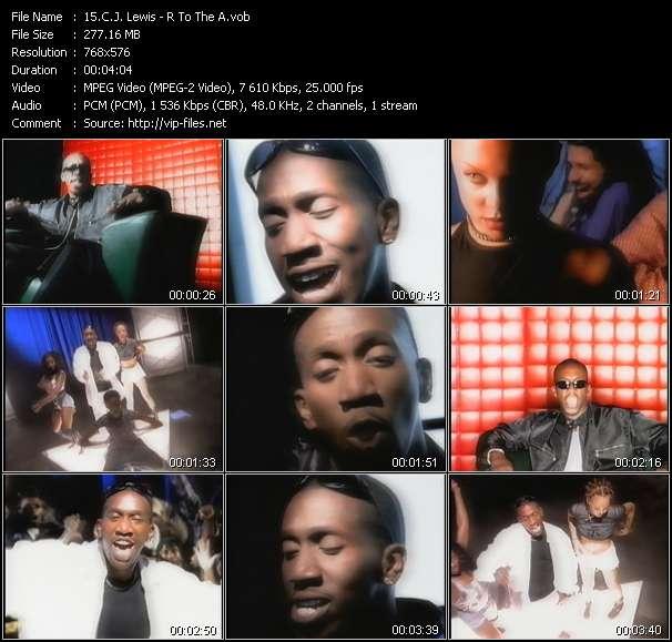 C.J. Lewis видеоклип vob