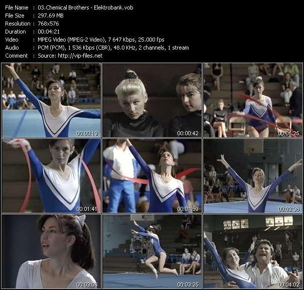 Screenshot of Music Video Chemical Brothers - Elektrobank