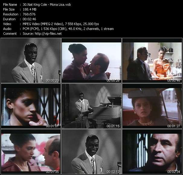 Nat King Cole video vob