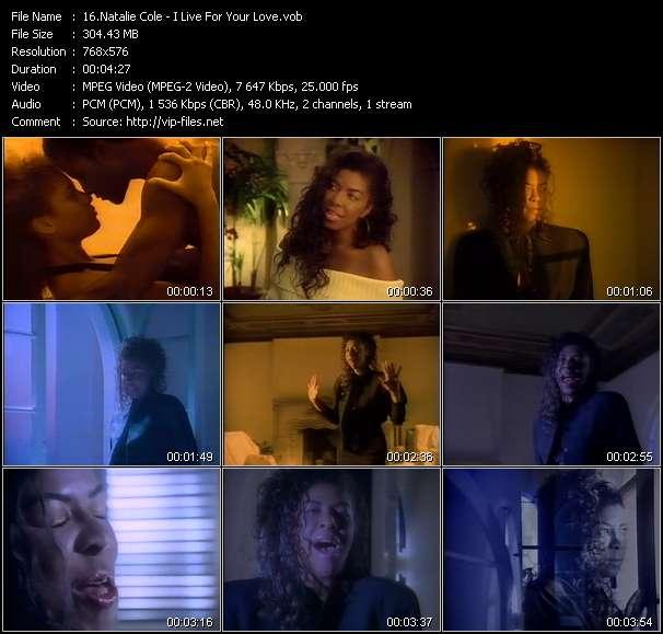 Natalie Cole clips musicaux vob