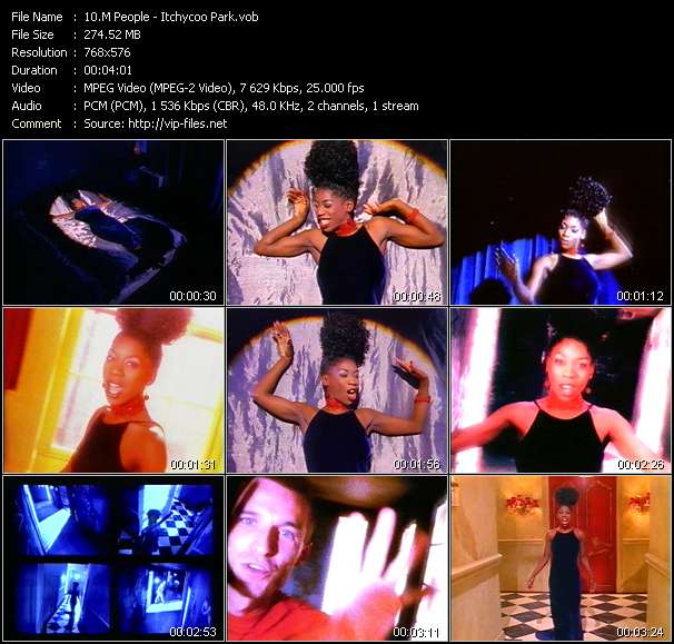 Screenshot of Music Video M People - Itchycoo Park