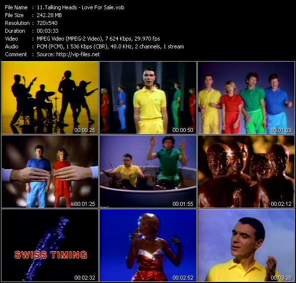 Talking Heads video vob