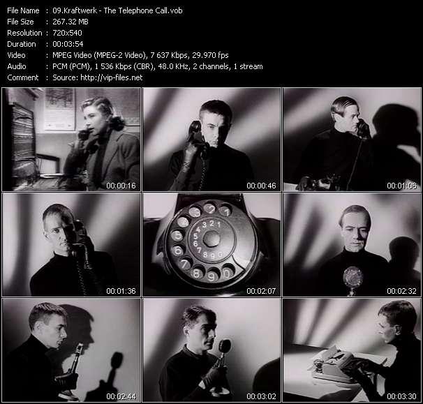 Kraftwerk video vob