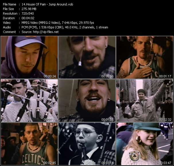 House of pain jump around download music video clip for 1992 house music