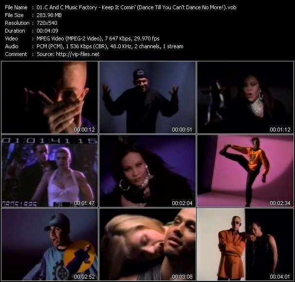 C And C Music Factory Feat. Q-Unique And Deborah Cooper video vob