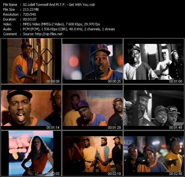 Lidell Townsell And M.T.F. video vob