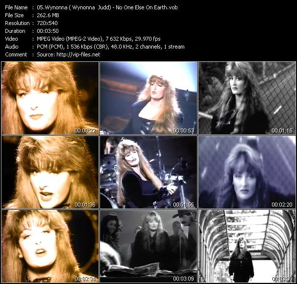 Wynonna (Wynonna Judd) video vob