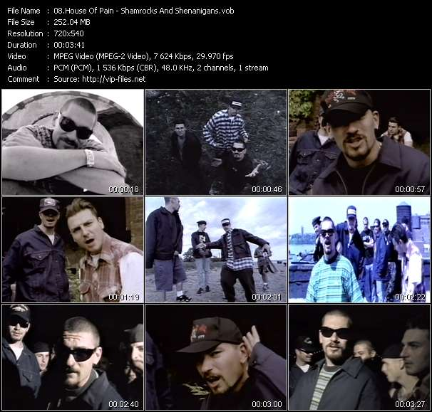 House Of Pain video vob