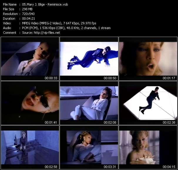 Mary J. Blige video vob
