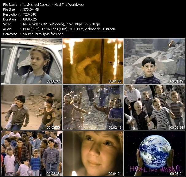 Michael Jackson video vob