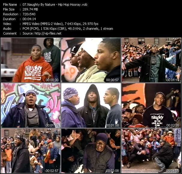 Naughty By Nature video vob