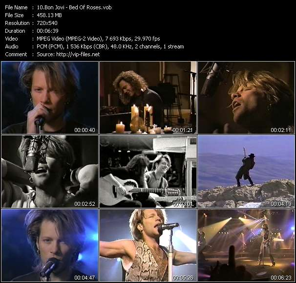 Bon Jovi video vob