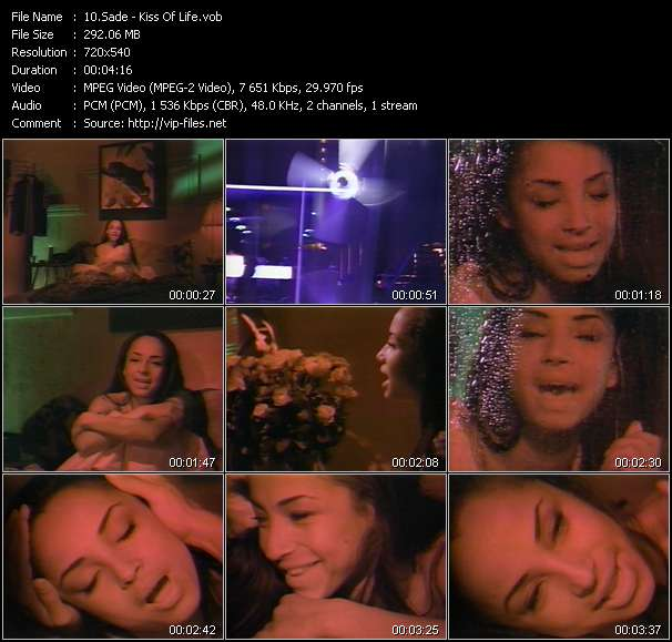 Sade video vob