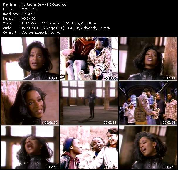 Regina Belle video vob