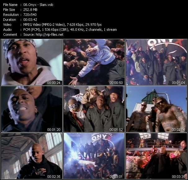 Screenshot of Music Video Onyx - Slam