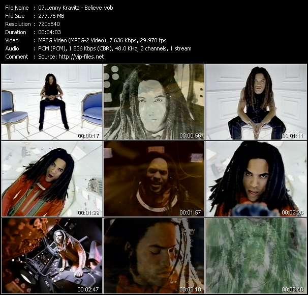 Lenny Kravitz video vob