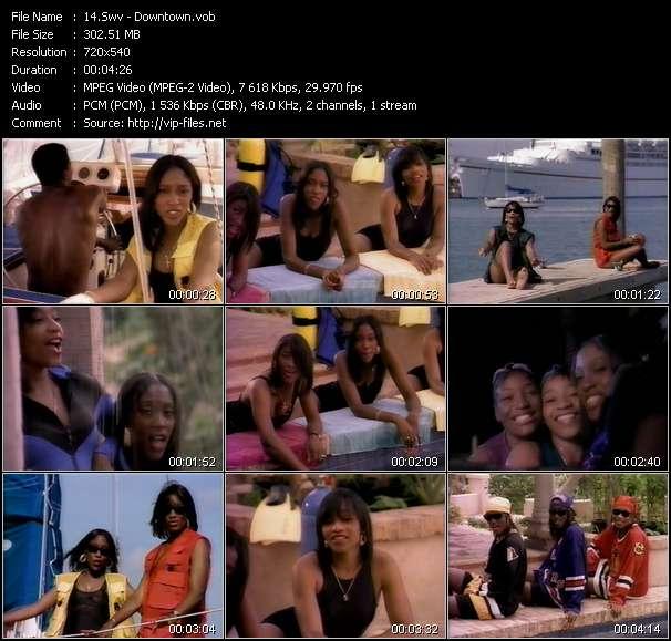 Screenshot of Music Video Swv - Downtown