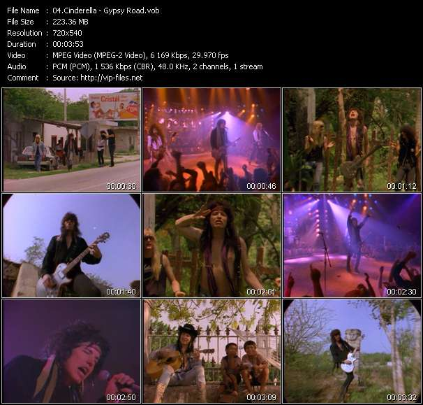Cinderella clips musicaux vob