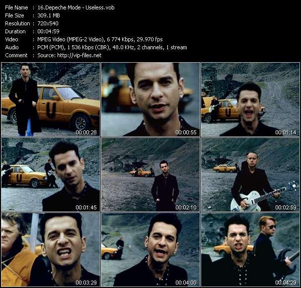 Depeche Mode video vob