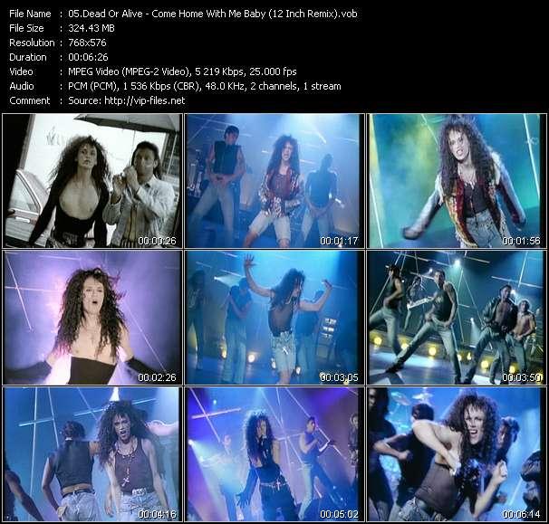 Dead Or Alive clips musicaux vob