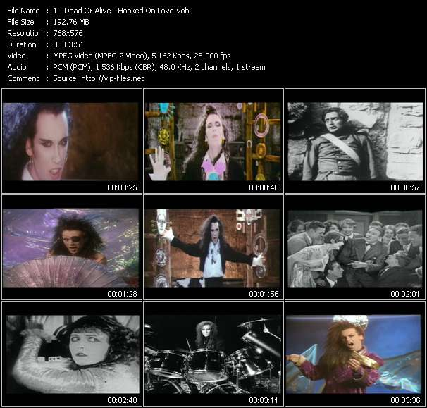 Screenshot of Music Video Dead Or Alive - Hooked On Love