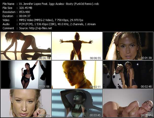 Jennifer Lopez Feat. Iggy Azalea video vob