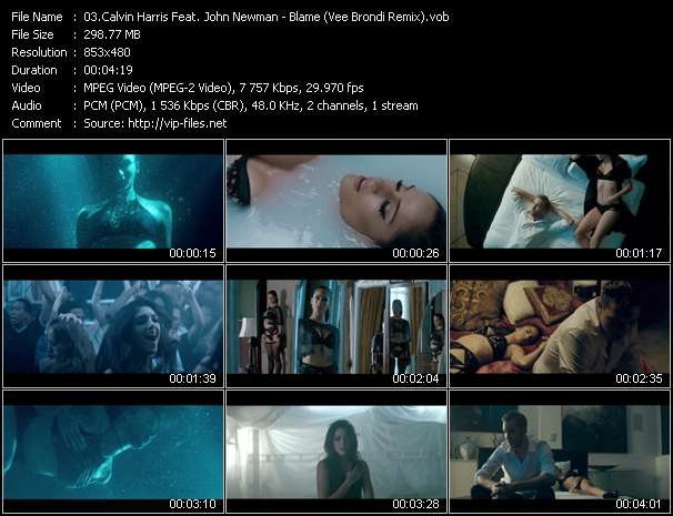 Calvin Harris Feat. John Newman video vob