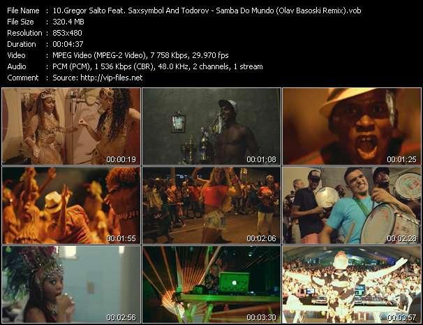 Screenshot of Music Video Gregor Salto Feat. Saxsymbol And Todorov - Samba Do Mundo (Olav Basoski Remix)