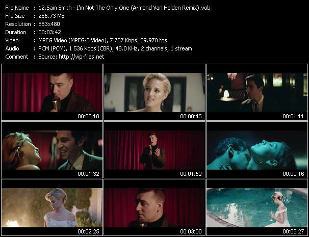 Sam Smith video vob