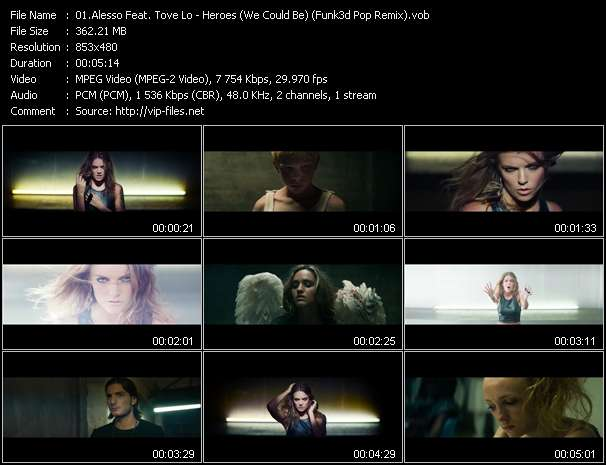 Alesso Feat. Tove Lo video vob