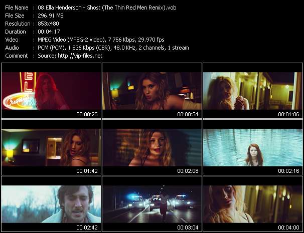 Ella Henderson video vob