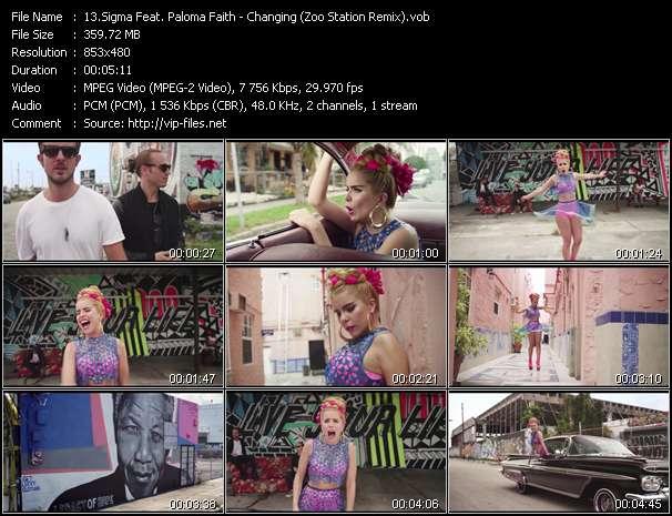 Sigma Feat. Paloma Faith video vob