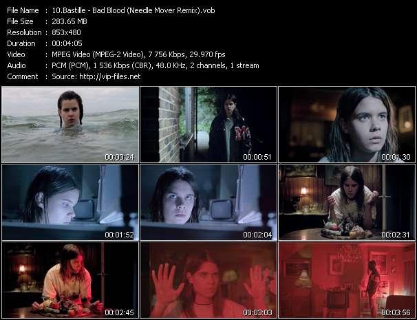 Screenshot of Music Video Bastille - Bad Blood (Needle Mover Remix)